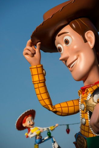 Woody Toy Story Land 3