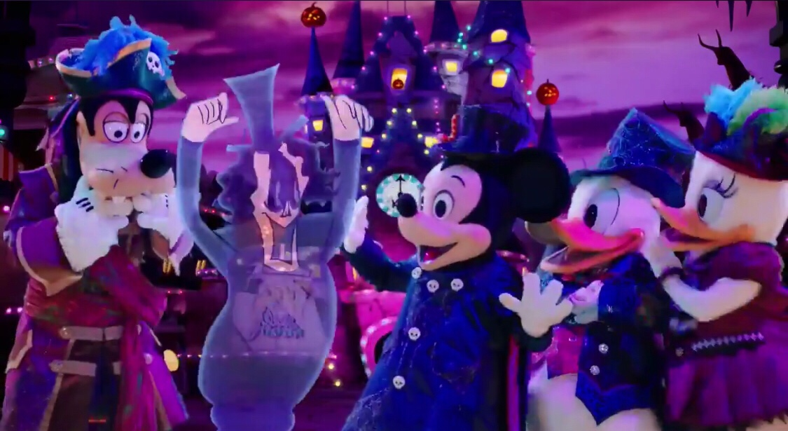 new ad shows mickey friends ready for halloween at tokyo disney resort