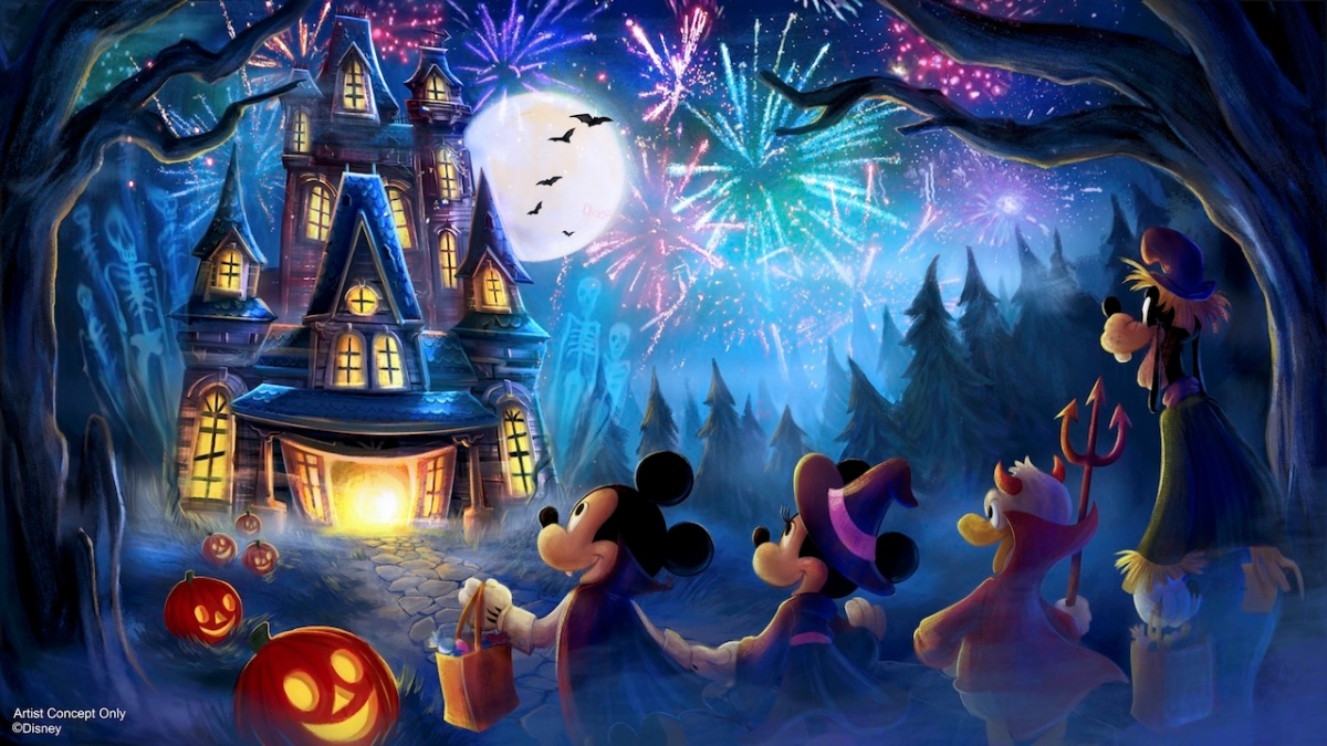 New Fireworks Show Coming To Mickey S Not So Scary