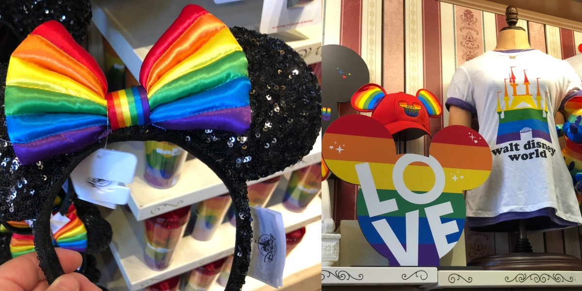 Disney Releases Rainbow Collection in Celebration of Pride Month