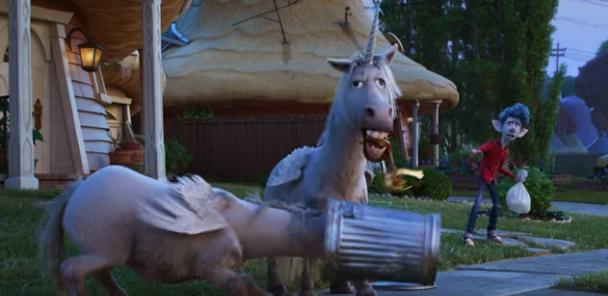 Onward Trailer Unicorn