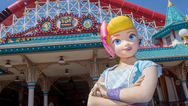 Bo Peep Now Greeting at Disney California Adventure Park