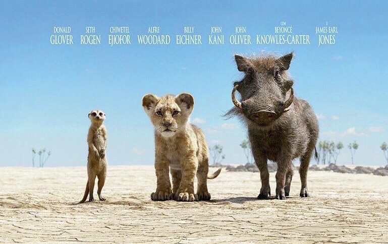 Disney Releases Portuguese Movie Poster For The Lion King