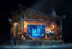 DLP Frozen Musical Invitation 2