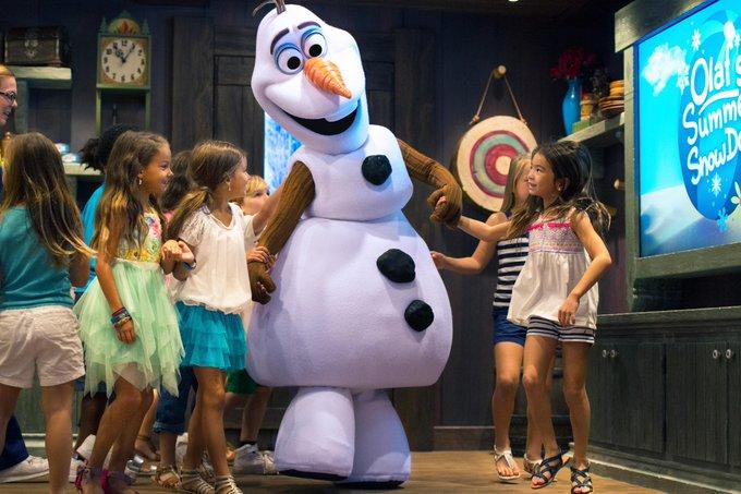 DLP Frozen Olaf Meet