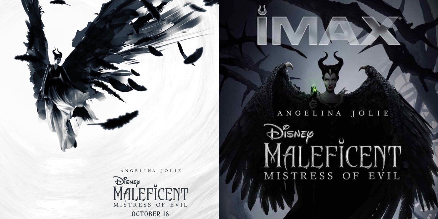 Reald 3d Imax Unveil Maleficent Mistress Of Evil Poster