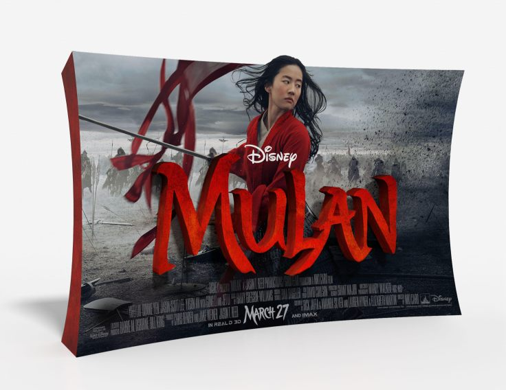 Mulan Standee