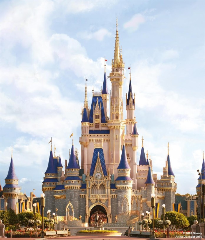Cinderella Castle Makeover 2020