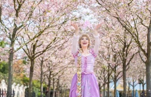 Rapunzel Shanghai Cherry Blossom