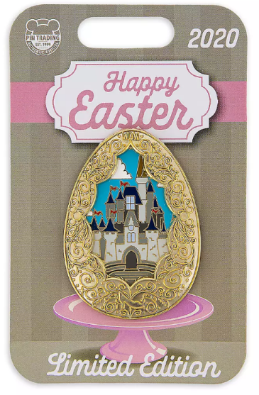 Cinderella Castle Easter Egg Pin