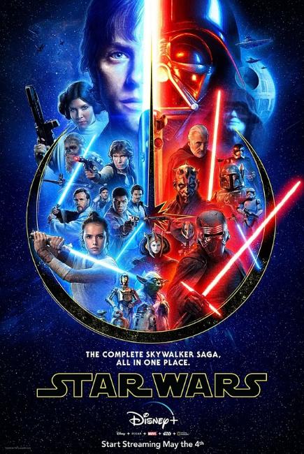Skywalker Saga Poster