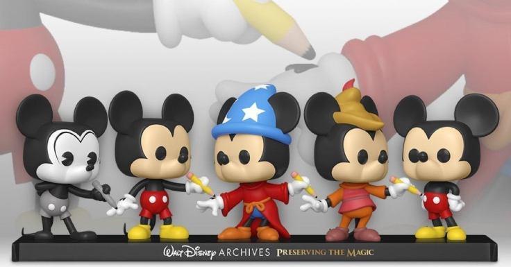 Funko Disney Archives Mickey POP