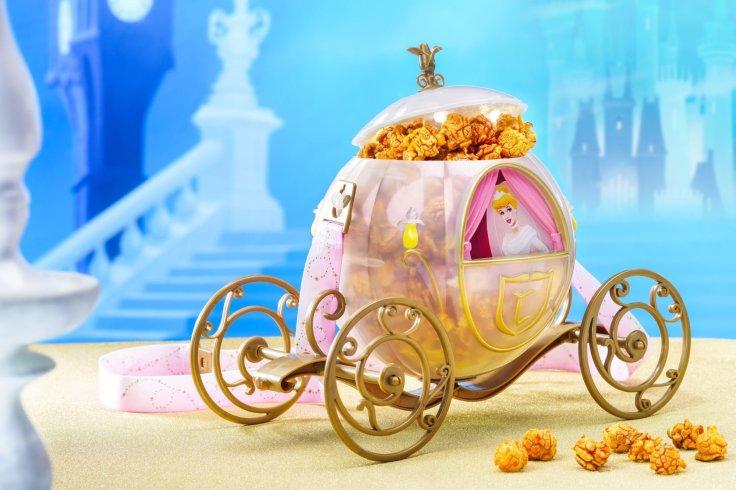 HKDL Cinderella Popcorn Bucket