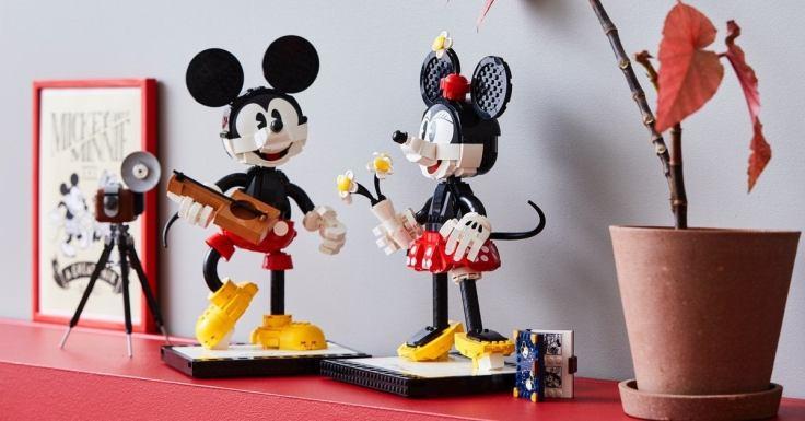 LEGO Buildable Mickey Minnie