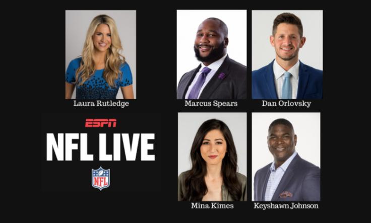 NFL Live August 2020 team espn
