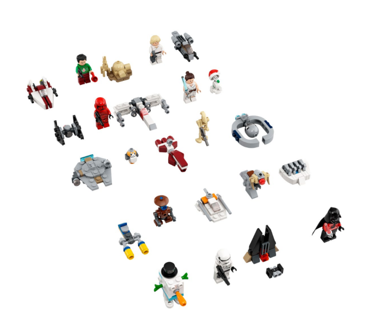 Advent Lego Star Wars Minifigures