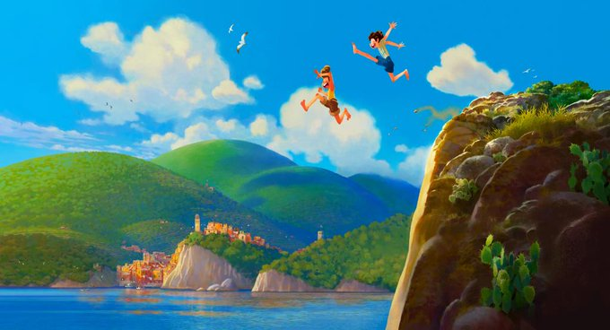 Pixar Luca Concept